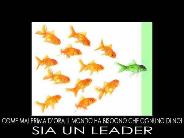lezione di leadership