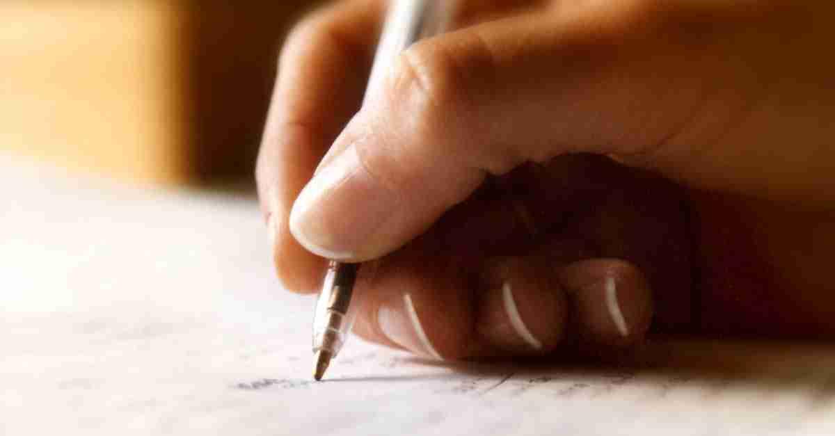 benefici della scrittura